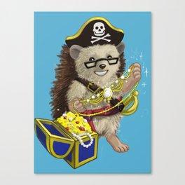 Pretty Pirate Lorelei Canvas Print