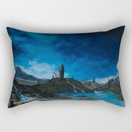 Land of the Old Gods Rectangular Pillow