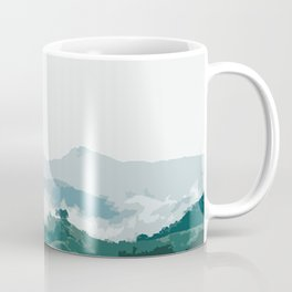Foggy mountain Coffee Mug