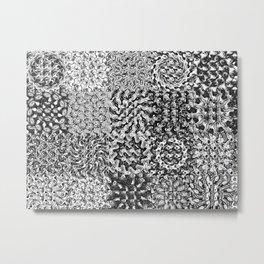 textile Metal Print