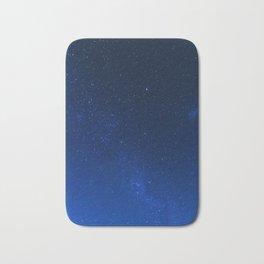 Blue Night Sky (Color) Bath Mat