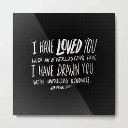 Everlasting Love II Metal Print