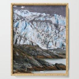 Glacier Bay National Park Alaska Wilderness Serving Tray