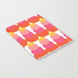 Retro Pattern VI Notebook