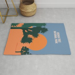 Enjoy The Sun And Explore The Wilderness Of The Joshua Tree National Park Rug