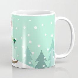 Small skier Coffee Mug