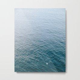 Serenity At Sea Metal Print