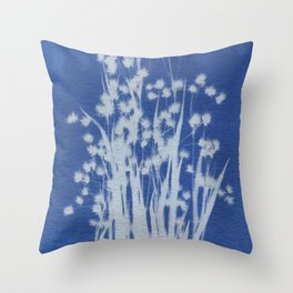 Cyanotype No. 1 Throw Pillow