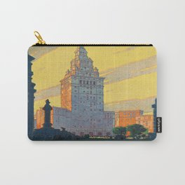 Vintage poster - Cleveland Carry-All Pouch