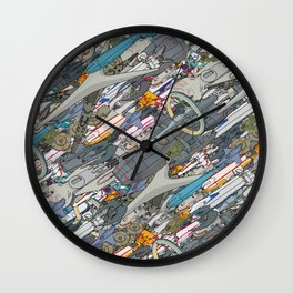 Battlestar Wall Clock