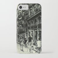 barcelona iPhone & iPod Cases featuring Barcelona by Lamb