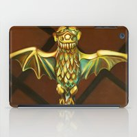haunted mansion iPad Cases featuring Haunted Mansion Bat Stanchion by ArtisticAtrocities