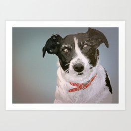 Rosie Dog Art Print