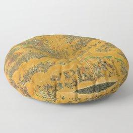Siege of Osaka Castle Floor Pillow