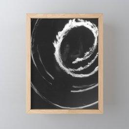 Fire Hoop Framed Mini Art Print