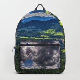 Bavarian Forest Landscape Backpack