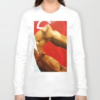 body Long Sleeve T-shirts featuring BoDy  by Hakim Pop Art