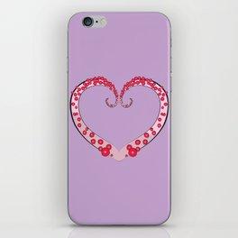 Tentacle Valentine iPhone Skin