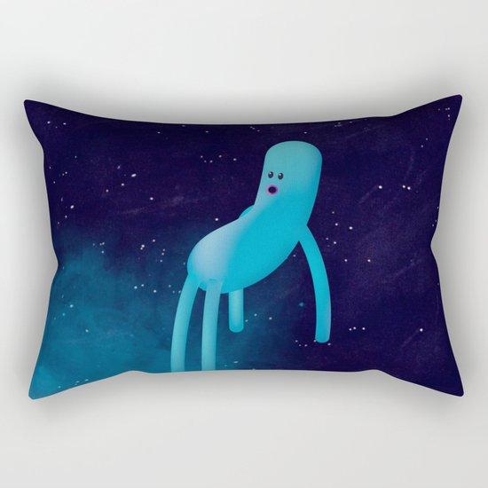 b l u Rectangular Pillow