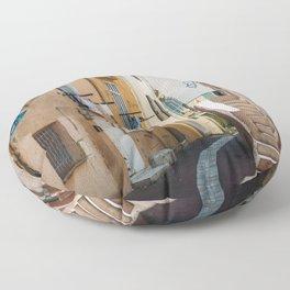 Provence France Street Floor Pillow