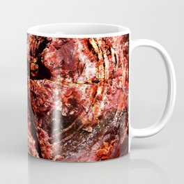 Petrified Tree Rings Coffee Mug