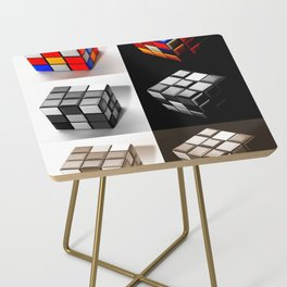 Rubiks Cube Side Table