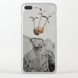 Floating Mind Clear iPhone Case