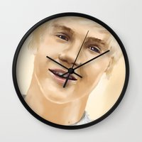 niall Wall Clocks featuring Niall by Sayrise