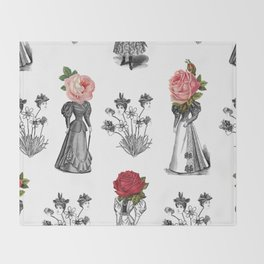 The Dreams of Flowers | The Tables Have Turned Throw Blanket