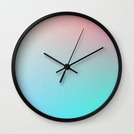AESTHETICS / Plain Soft Mood Color Tones Wall Clock