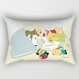Great Pyrenees - Hide Me From that Puppy! Rectangular Pillow