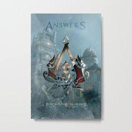 Ezio Auditore Da Firenze - Answers Metal Print