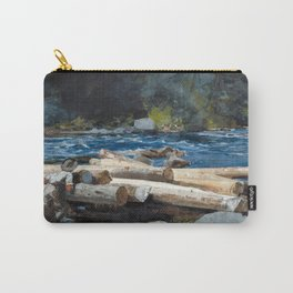 Winslow Homer - Hudson River, 1892 Carry-All Pouch