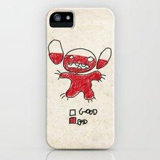 Stitch good&bad meter.... iPhone (5, 5s) Slim Case