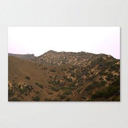 Glendale Peaks & Valleys Canvas Print