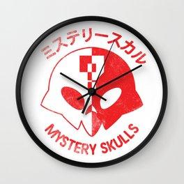 MYSTERY SKULLS • MISUTERĪSUKARU Wall Clock