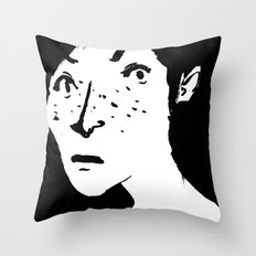 Women portrait Throw Pillow