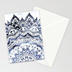 BLUE ORION JEWEL MANDALA Stationery Cards
