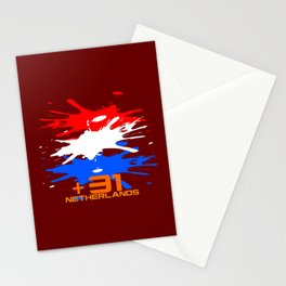 Netherlands Code Stationery Cards