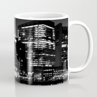 boston Mugs featuring Boston by Nichole Giordano