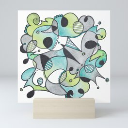 Abstract Critters Mini Art Print