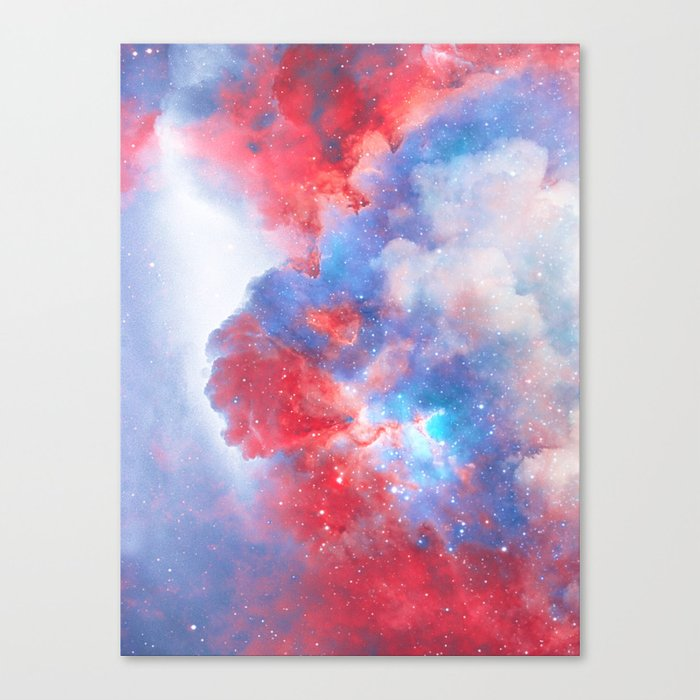 Stay with me between the Clouds and your Dreams Canvas Print