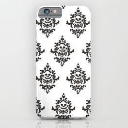 Victorian Pattern - Skull iPhone Case