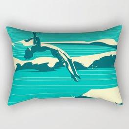 Diver01 Rectangular Pillow