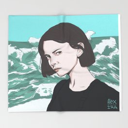 Under the Surface Throw Blanket
