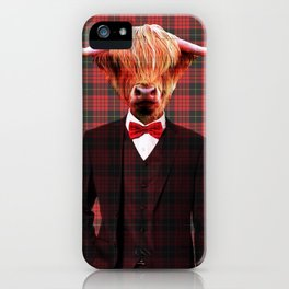 Sir Coo iPhone Case