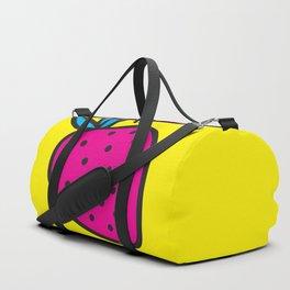 Strawberrious - Magenta/YELLOW Duffle Bag
