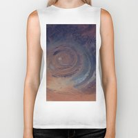 nasa Biker Tanks featuring eye in the sky, eye in the desert (nasa #01) by _mackinac
