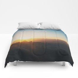 sunrise on Mt Woodson ... Comforters