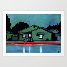 Nightscape 05 Art Print